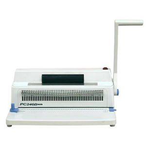 Manual Office Type Small Size Spiral Binding Machine (PC246B PLUS) pictures & photos
