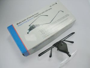 Hot Sale Glasses Magnifier with LED Light (MG19157-3) pictures & photos