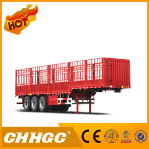 Hot Sale HSS Van-Type Truck Cargo Semi-Trailer pictures & photos