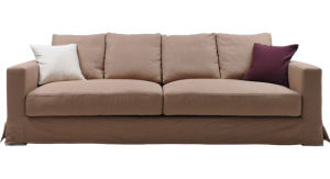 Living Room Furniture 3 Seater Sofa (SF-240A)