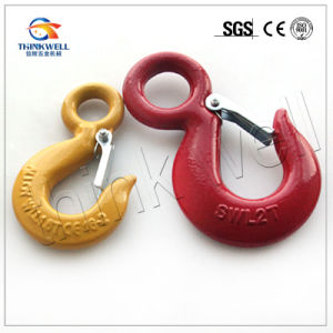Forged S320 Lifting Hook with Latch pictures & photos