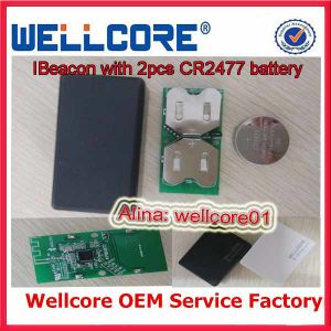 Bluetooth Le Beacon, Ibeacon with Dual Battery