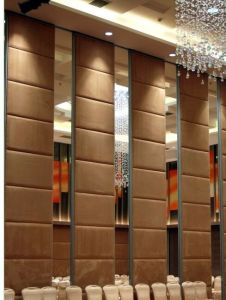 China Manufacturer Aluminium Restaurant Folding Movable Partition