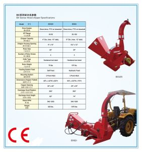Small Log/Branch/Leaf Chippers , CE Approval (BX42S) pictures & photos