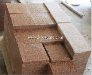Tian Shan Red Granite Tile for Outdoor Paving pictures & photos