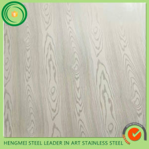 High Quality 304 Wooden Lamination Stainless Steel Sheet for Hot Sale pictures & photos