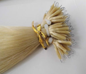Wholesale Cheap Double Drawn Human Hair Extension Nano Ring pictures & photos