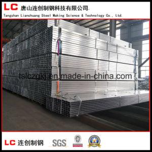 Export Standard Pre-Galvanized Rectangular Steel Pipe pictures & photos