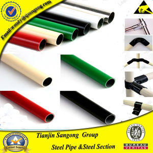 PE Plastic Coat Complex Steel Pipe for Water pictures & photos