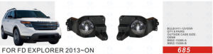 Front Fog Lamp for Ford Explorer 2013-on