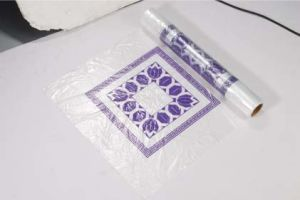 HDPE Plastic Disposable Print Table Cloth pictures & photos