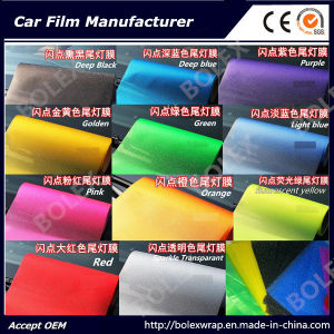 Sparkle Shining Car Light Film/ Headligh Film/Tail Light Tint Tail Lamp Film pictures & photos