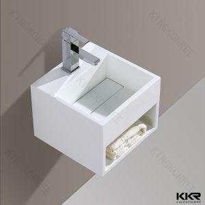 Shower Pedestal Wash Basin Bathroom Sink for Hotel pictures & photos