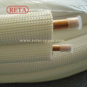 Air Conditioner Copper Tube Copper Coil Insulated Copper Tube pictures & photos