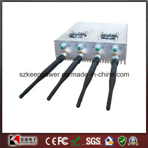 Adjustable + Remote Control Cell Phone Jammer 25 Meters pictures & photos