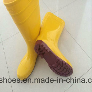 Popular Chemical Industrial Waterproof PVC Work Safety Rainboots