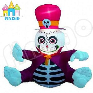 New Design Waterproof Outdoor Decoration Inflatable Halloween Skeleton for Sale pictures & photos