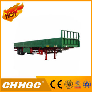 Chhgc 20t 2 Axles Semi Trailer with Side Wall pictures & photos