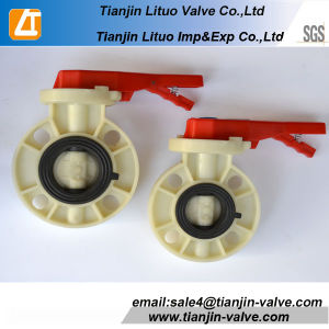 PVC Butterfly Valve, 6 Inch Butterfly Valve pictures & photos