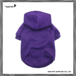 Small Minimum Order Quantity Cotton Basic Dog Hoodies Sph6001-16 pictures & photos