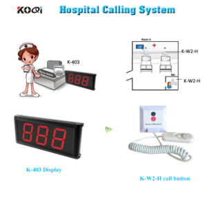 Emergency Bell System Wireless Clinic Hospital Equipment CE Approved pictures & photos