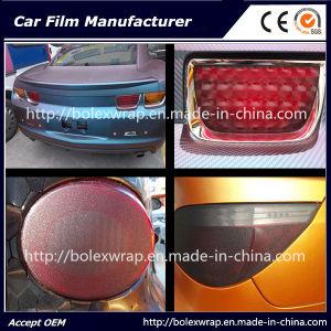 Color Choose Sparkle Shining Car Light Film/ Headligh Film/Tail Light Tint Tail Lamp Film 0.3*9m pictures & photos