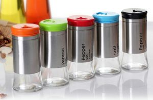 New Color Lids Glass Jar Kitchenware Glass Bottle pictures & photos