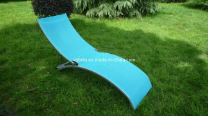 Model Outdoor Beach Garden Patio Textilene Lounger pictures & photos