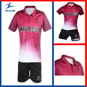 Customized Sublimation Tennis Uniforms with High Quality pictures & photos