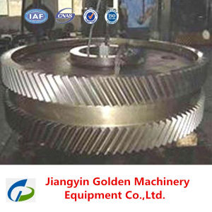 1045 Carbon Steel Forged Ring Gear Big Size pictures & photos