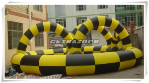 High Quality Colorful Zorb Ball Inflatable Track pictures & photos