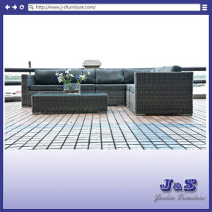 Outdoor Garden Wicker Furniture, Modern Rattan Sofa Set (J240) pictures & photos
