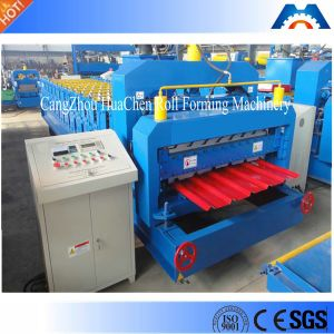 Color Steel Metal Glazed Roof Tile Roll Forming Machine