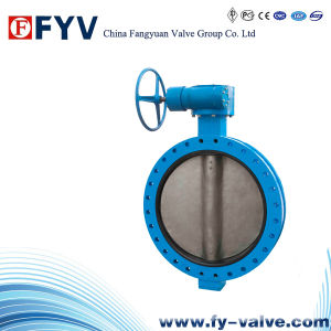 Handwheel Series B-Type Flange Butterfly Valve pictures & photos
