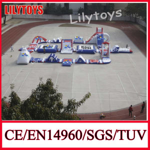 2014 Popular Inflatable Water Park, Inflatable Water Games From Lilytoys