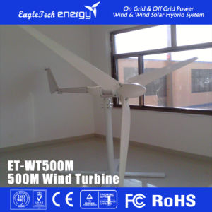 500W Wind Solar Turbine Generator Wind Mill Household Wind Generator
