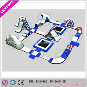 Popular High Quality Adult Inflatable Water Park, Water Trampoline Game, Water Amusement Park Equipment for Sale (J-water park-125)