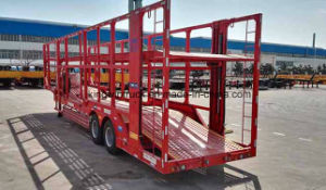China Brand Car Transported Flatbed Trailer pictures & photos