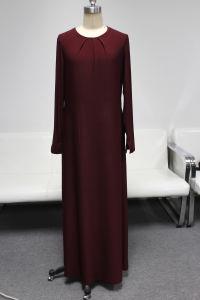 2014 Yyh New Fashion Red Long Muslim Dress Abayas