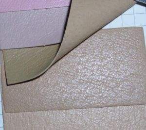 Synthetic Pigskin Shoe Lining/Synthetic Pig Grain/ Microfiber Leathers pictures & photos