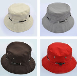 Factory Fashion Custom Leisure Cotton Bucket Hat pictures & photos