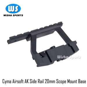 ′cyma Airsoft′ Ak Side Rail 20mm Ras Scope Sight Heavy Duty Mount Base C39 pictures & photos
