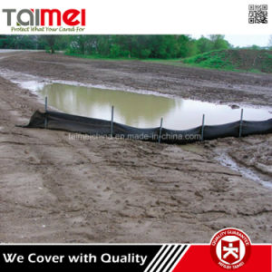 100% Virgin Material Polypropylene Black Silt Fence for Erosion Control pictures & photos