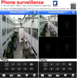 8CH Combo DVR Free Cms Software CCTV System pictures & photos