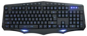 Gaming Keyboard Illuminated With10 Multi Keys (KBB-006) pictures & photos