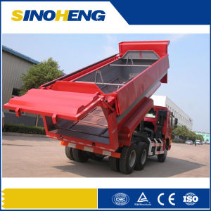 Sinotruk HOWO 6X4 Rear Dump Garbage Truck pictures & photos