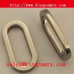 Zinc Alloy Oval Shape Loops Metal Belt Loop Oval Loop pictures & photos