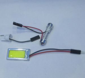 High power Flat Panel  car room light 18 chips 1.8W