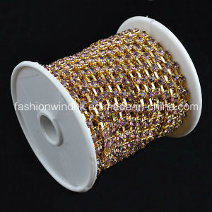 Crystal Chain (FGC2001) Rhinestone Chain Garment Accessory