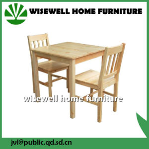 Solid Pine Wood Dining Chair in Home (W-C-053) pictures & photos